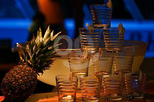 Stimmungsvoller Abend auf dem Partyboot Mallorca