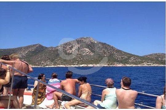 Fahrt mit dem Boot entlang Mallorcas Südwestküste