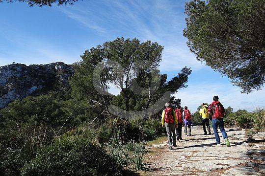 Trekking in Mallorcas Idylle