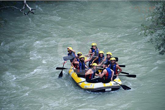 Wildwasser Rafting bei Malaga