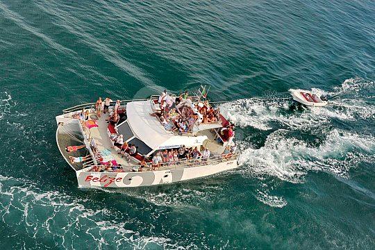 Algarve Bootstour mit dem Katamaran