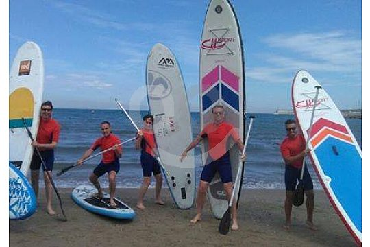 Stand Up Paddle Boards in Valencia