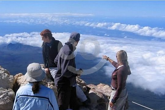 Ausblick vom Teidegipfel