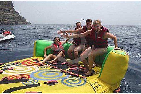 Donut / Hot wheel Spaß auf dem Wasser Gran Canaria