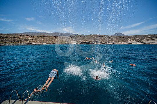 Teneriffa Bootsausflug mit Badepause