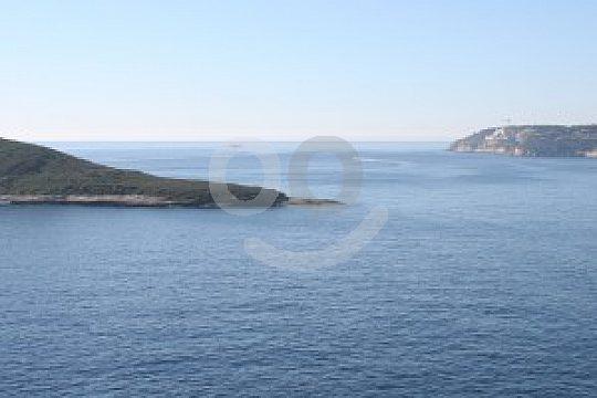 Küste auf der Bootstour ab Cala Viñas