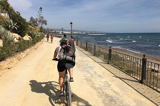 Fahrrad Tour in Malaga