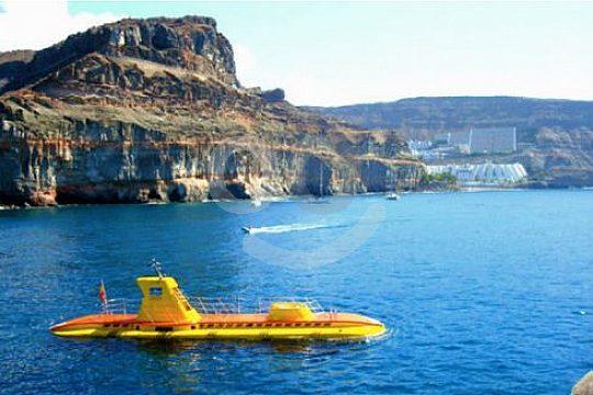 auf Gran Canaria U-Boot fahren