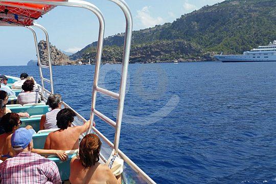 Bootstour auf dem Tagesausflug Mallorca