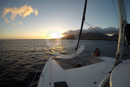 Segeln vor Fuerteventura