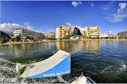 wakeboard parkours mallorca alcudia rampe