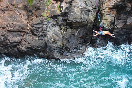 Bungee Jumping auf Kanareninsel