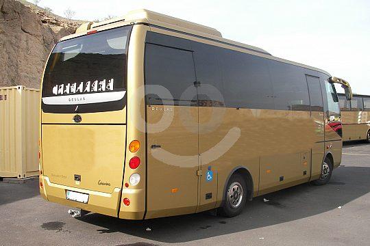 Bus große Gruppe Reiseleiter Teneriffa