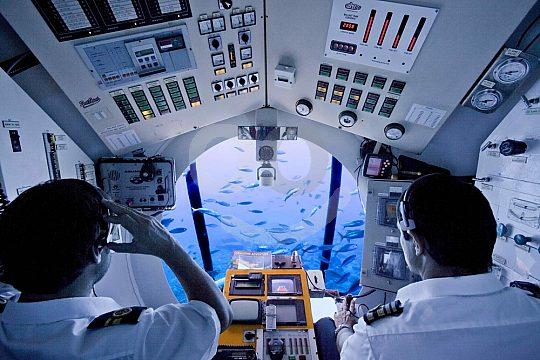 bis zum Meeresgrund mit dem U-Boot auf Gran Canaria