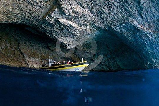 Die blaue Grotte von Cabrera