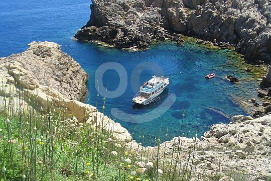 die Bootstour ab Cala Ratjada