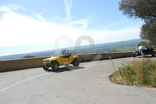 Tour mit 2-Sitzer Mini Jeeps von Cala Millor