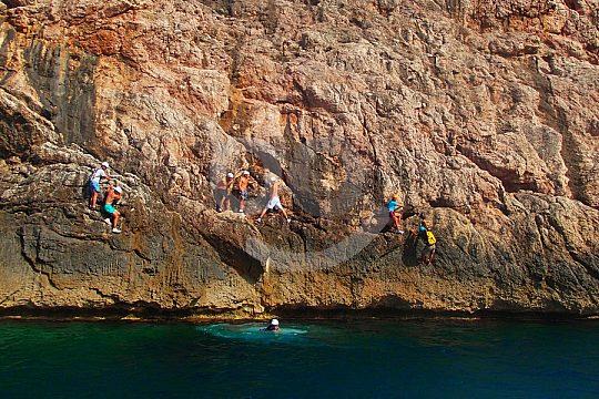 auf Mallorca klippenspringen
