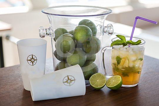 frische Cocktails an Bord