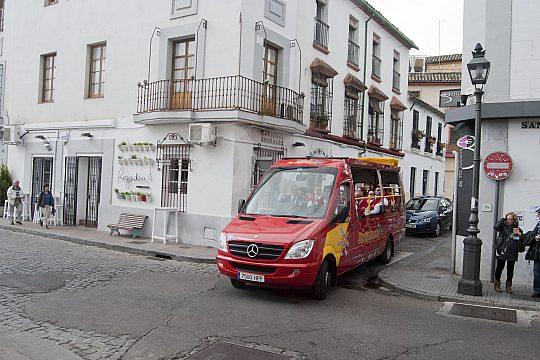 Stadtrundfahrt in Cordoba