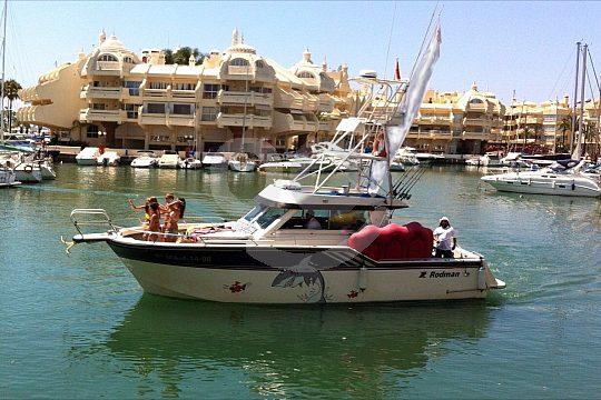 Costa del Sol Hafen des Bootsverleihs