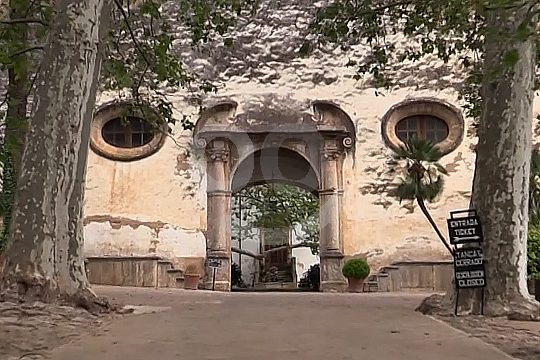 Eingang Jardines de Alfabia Musical