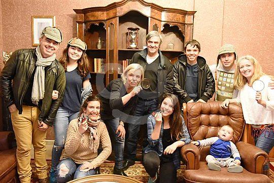 Detektive Gruppen Spiel Ibiza