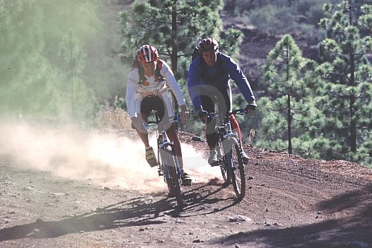 Fahrradtouren Vulkane Teneriffa