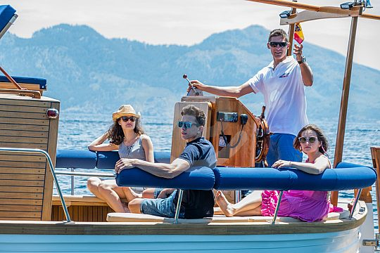 Boot mieten Mallorca Alcudia mit Skipper