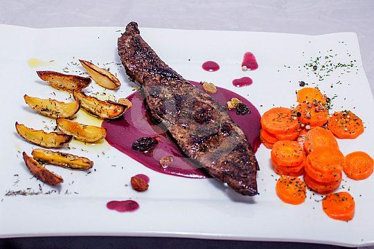 Abendessen auf Mallorca auf dem Boot