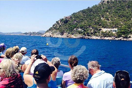 Bootsfahrt ab Formentor nach Puerto Pollensa