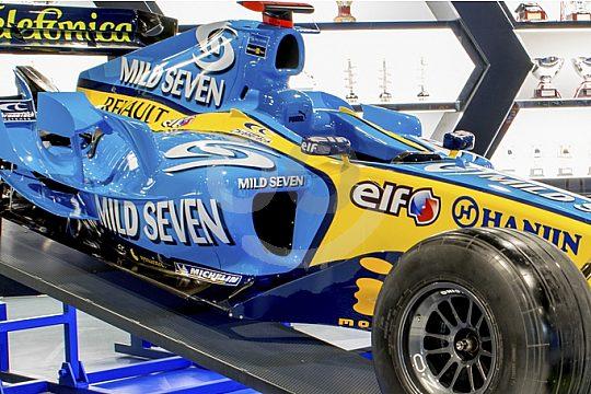 Formel 1 im Museum in Manacor