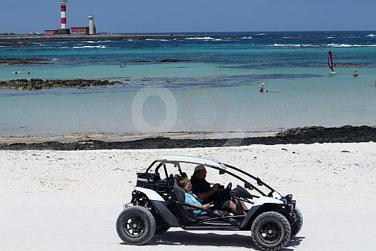 Ab Corralejo: erlebnisreiche Buggy Tour auf Fuerteventura mit Offroad Strecken