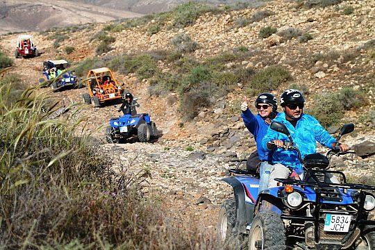 Tour Fuerteventura mit Quad und Buggy