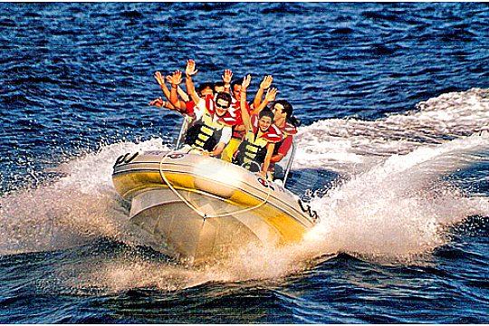 Vollgas mit dem Schnellboot