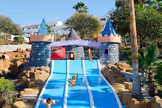 Funtour Aqualand Rutsche Kinder Burg