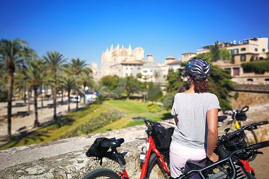 Fahrradtour durch Palma de Mallorca