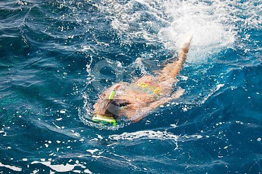 Bootsfahrt mit Schnorcheln