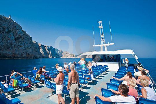 Glasbodenboot Cap Formentor