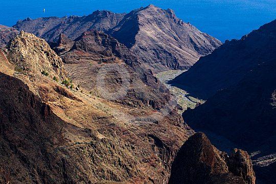 Panorama auf Sightseeing Tour Teneriffa