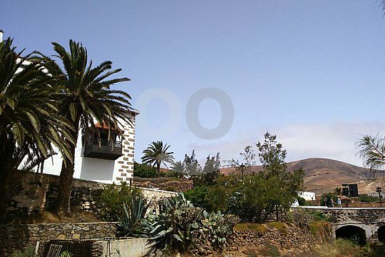 Dorf auf der Rundfahrt Fuerteventura