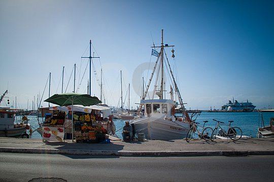 Hafen Ägina Saronischer Golf