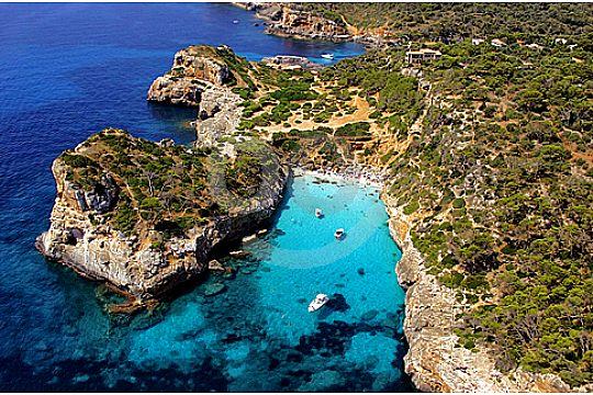 Rundflug Mallorca von oben