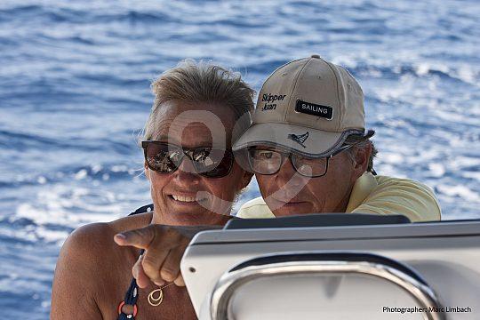 Segeln auf einer Yacht in Mallorca