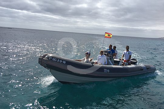 Taxi mit Speed zur Insel Lobos