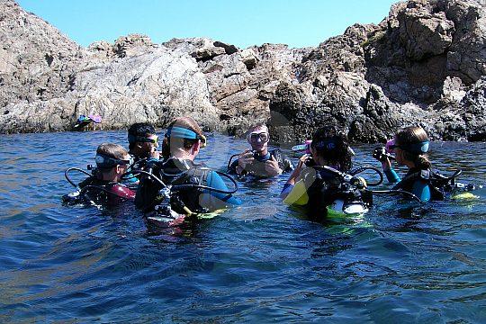 La Manga Tauchkurs Open Water Diver