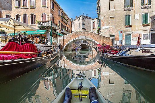 Halbinsel Murano in Italien