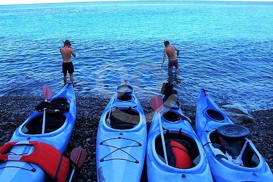 Elba Italien Kayak