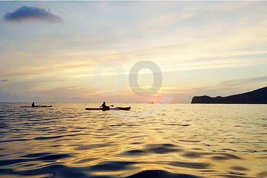 Sonnenuntergangs Tour mit dem Kayak in Mallorca