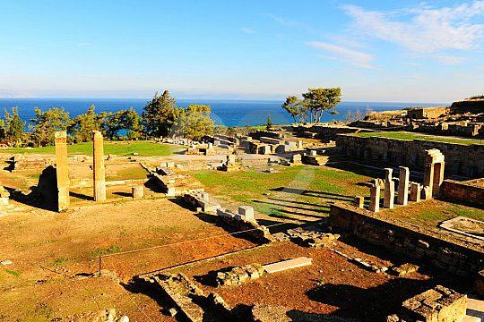 wandern auf Rhodos zur antiken Stadt Kamiros